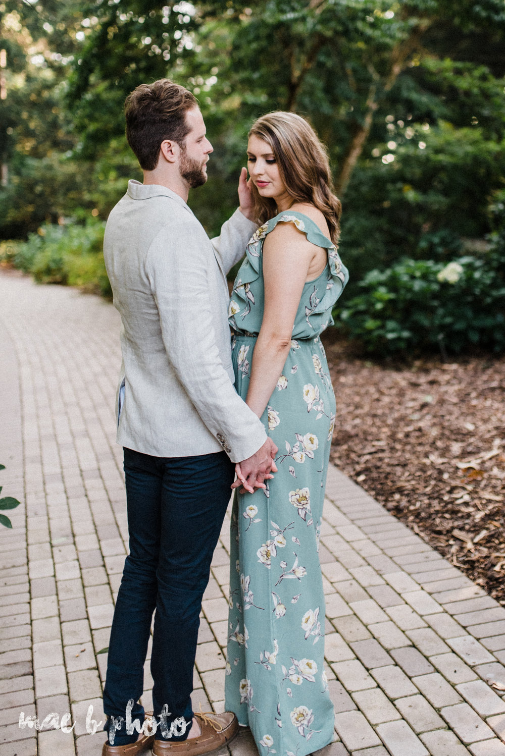 lauren and steve's summer engagement session at the rose gardens and lanterman's mill in mill creek park in youngstown ohio photographed by youngstown wedding photographer mae b photo-17.jpg