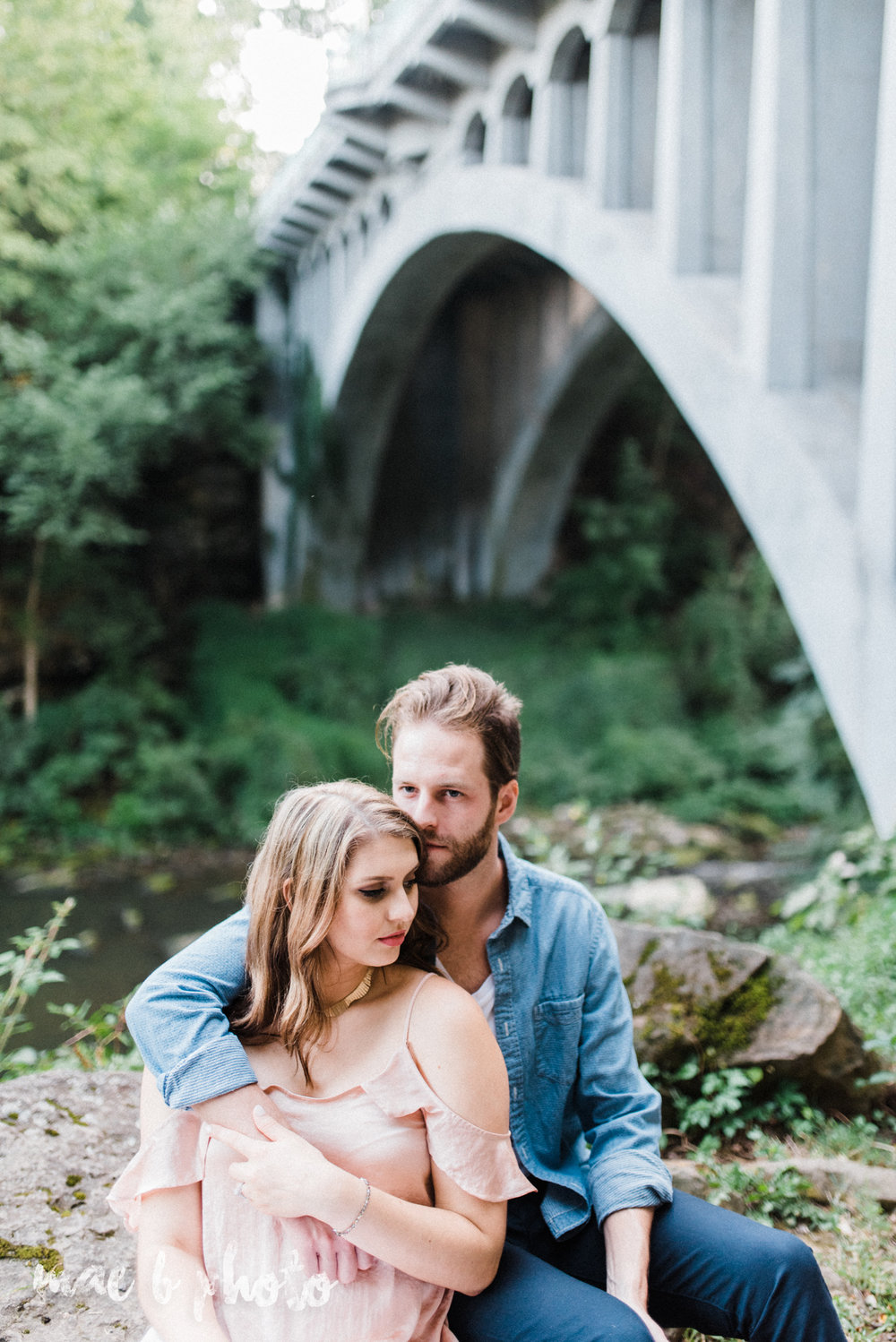 lauren and steve's summer engagement session at the rose gardens and lanterman's mill in mill creek park in youngstown ohio photographed by youngstown wedding photographer mae b photo-39.jpg