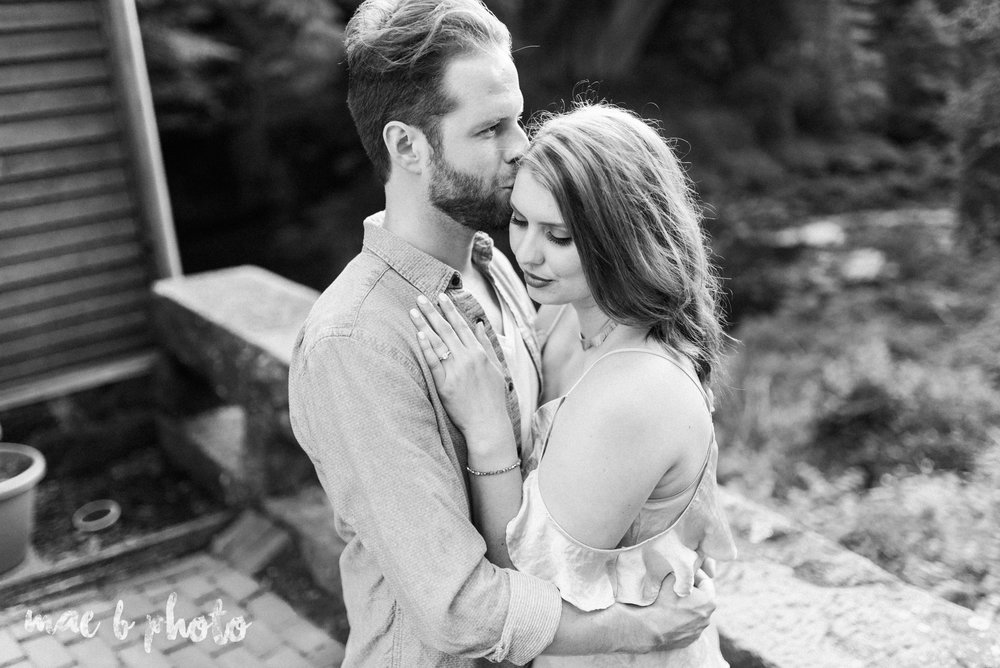 lauren and steve's summer engagement session at the rose gardens and lanterman's mill in mill creek park in youngstown ohio photographed by youngstown wedding photographer mae b photo-29.jpg