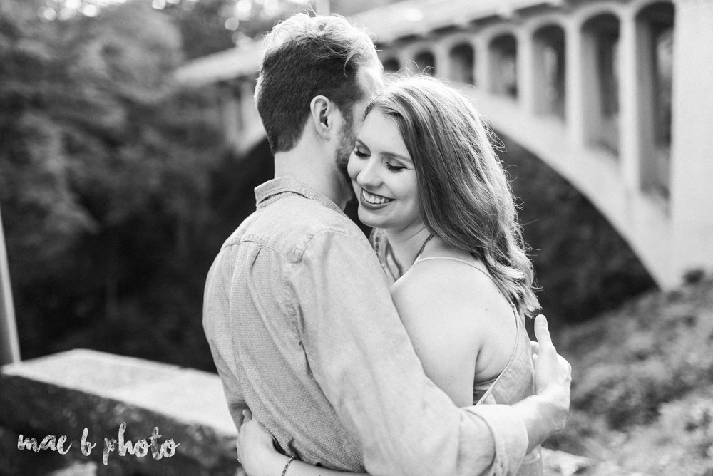 lauren and steve's summer engagement session at the rose gardens and lanterman's mill in mill creek park in youngstown ohio photographed by youngstown wedding photographer mae b photo-30.jpg