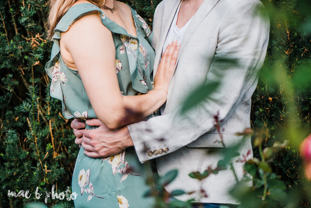 lauren and steve's summer engagement session at the rose gardens and lanterman's mill in mill creek park in youngstown ohio photographed by youngstown wedding photographer mae b photo-8.jpg
