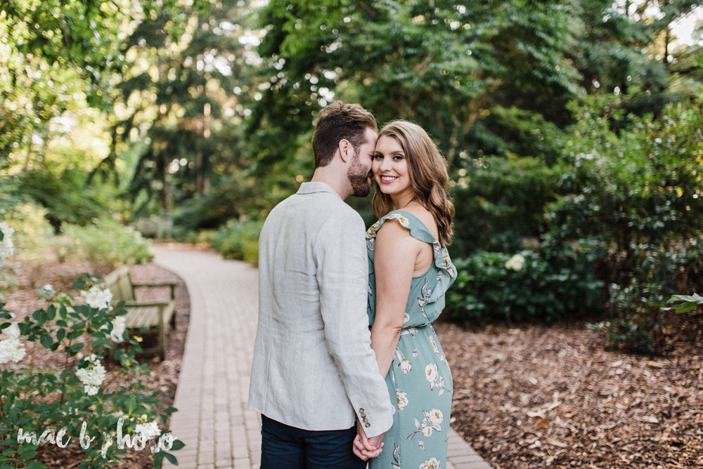 lauren and steve's summer engagement session at the rose gardens and lanterman's mill in mill creek park in youngstown ohio photographed by youngstown wedding photographer mae b photo-15.jpg