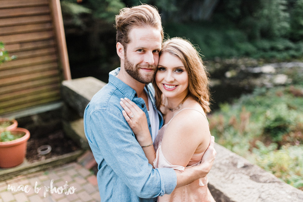 lauren and steve's summer engagement session at the rose gardens and lanterman's mill in mill creek park in youngstown ohio photographed by youngstown wedding photographer mae b photo-27.jpg