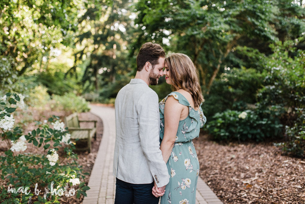 lauren and steve's summer engagement session at the rose gardens and lanterman's mill in mill creek park in youngstown ohio photographed by youngstown wedding photographer mae b photo-14.jpg