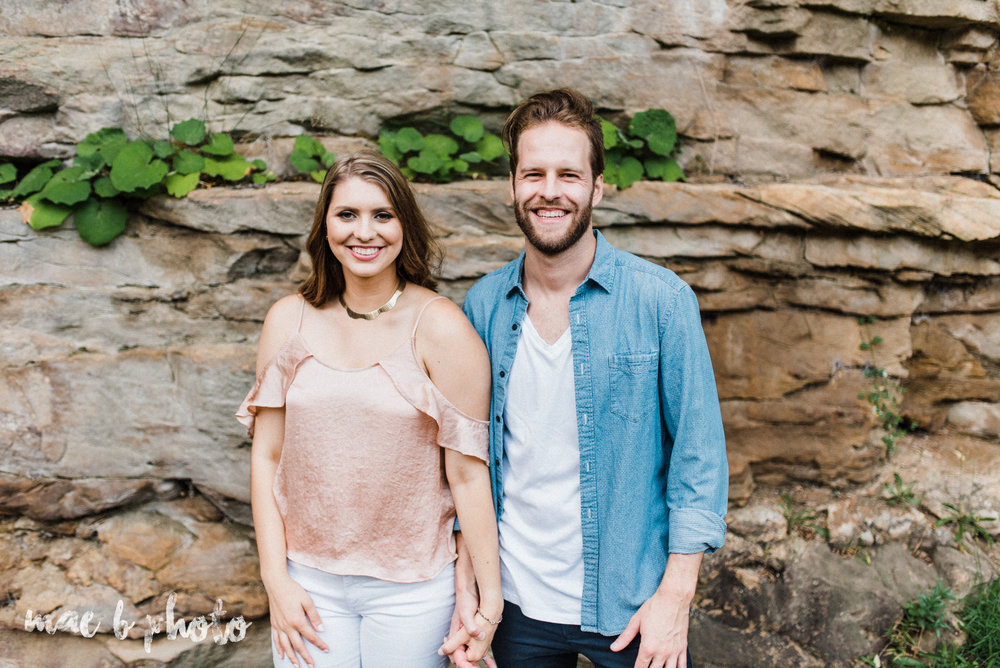 lauren and steve's summer engagement session at the rose gardens and lanterman's mill in mill creek park in youngstown ohio photographed by youngstown wedding photographer mae b photo-36.jpg