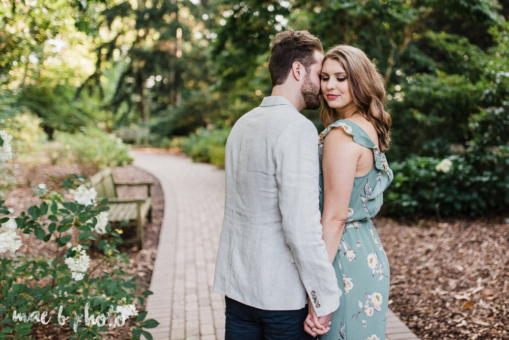 lauren and steve's summer engagement session at the rose gardens and lanterman's mill in mill creek park in youngstown ohio photographed by youngstown wedding photographer mae b photo-16.jpg
