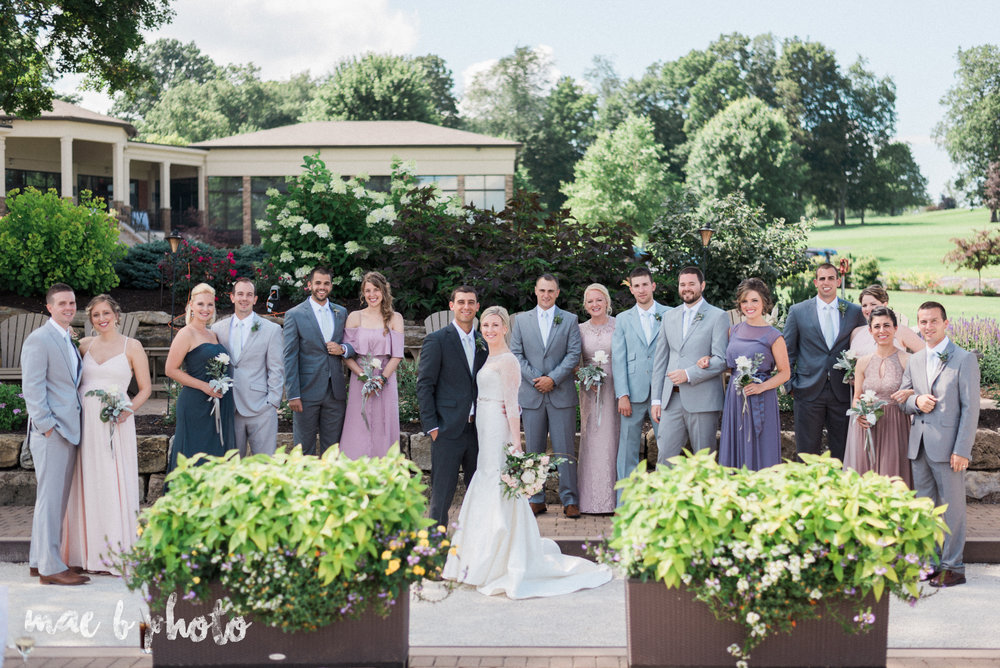 emily and michael's industrial chic summer country club wedding at the lake club in poland ohio photographed by cleveland wedding photographer mae b photo-72.jpg