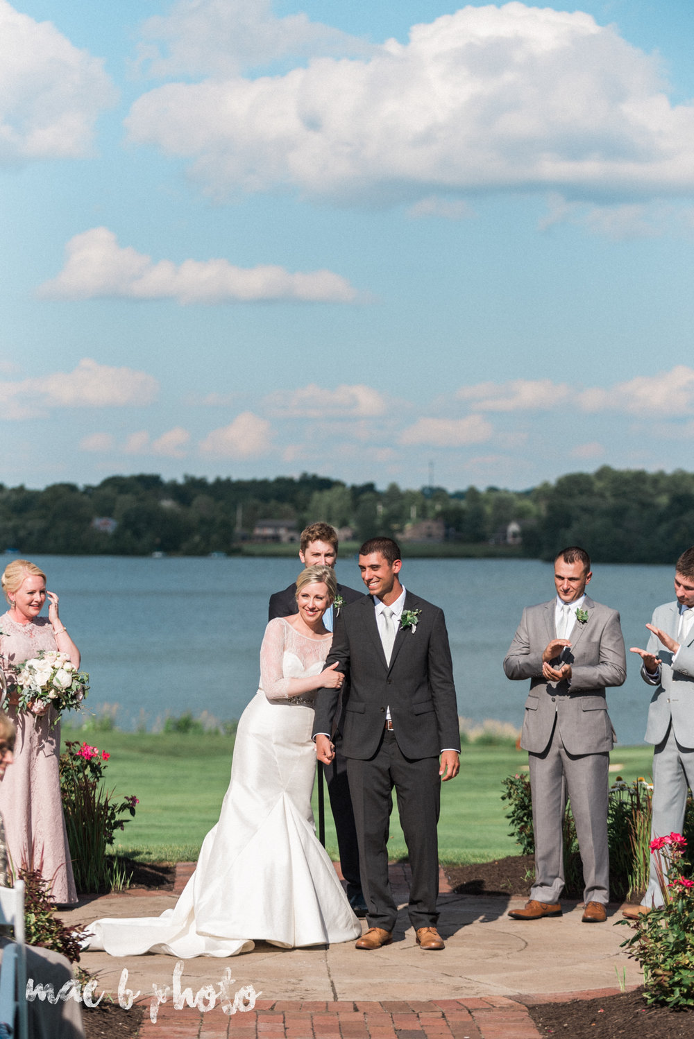 emily and michael's industrial chic summer country club wedding at the lake club in poland ohio photographed by cleveland wedding photographer mae b photo-101.jpg