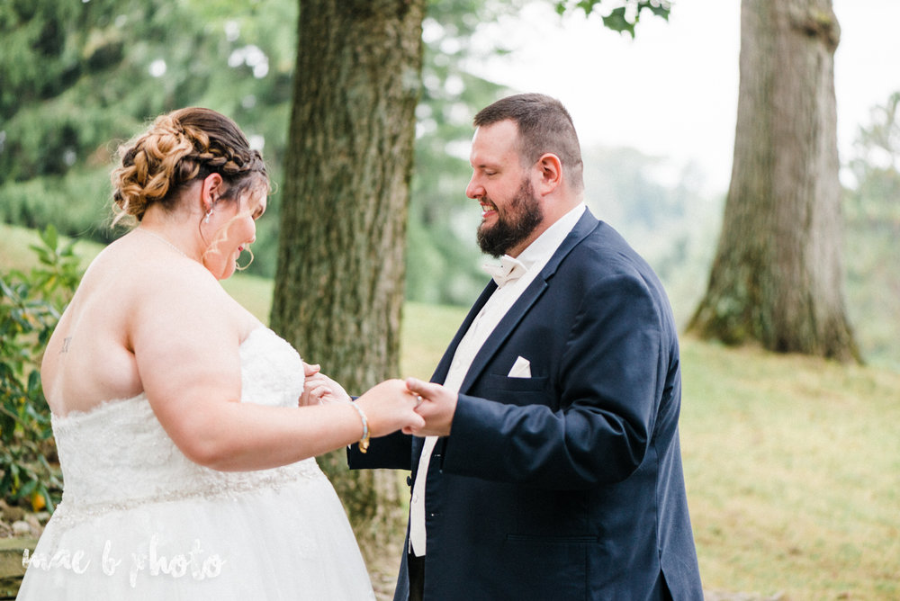 Kristina and ryan's personal vintage glam fall wedding at disalvo's station restaurant and the arnold palmer latrobe country club in latrobe, pa photographed by youngstown wedding photographer mae b photo-28.jpg