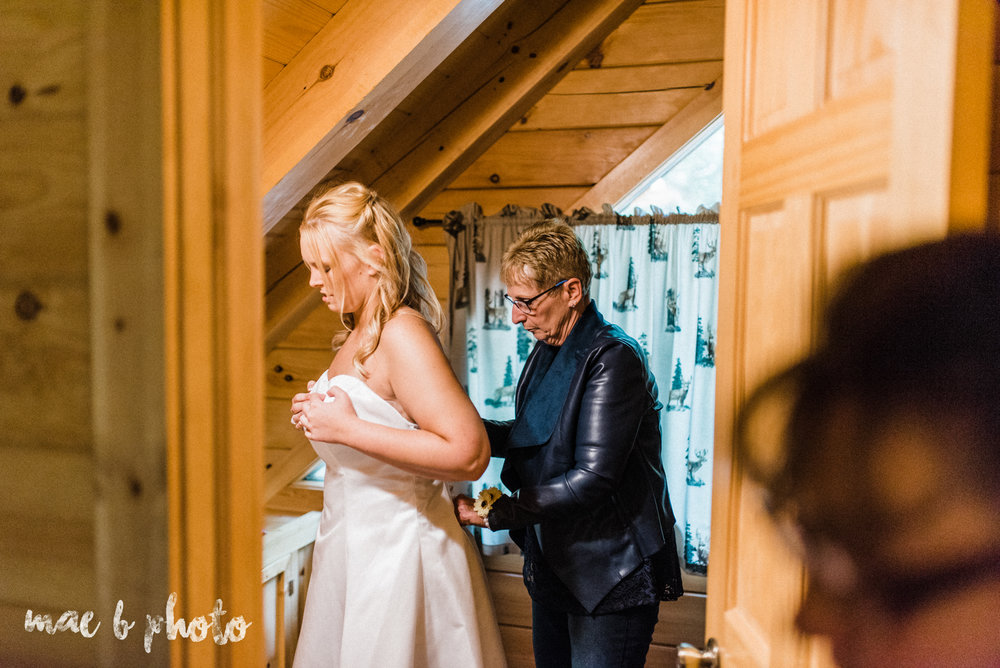 bobbi and pat's intimate fall cabin elopement in hocking hills old man's cave and rock house in logan ohio photographed by youngstown wedding photographer mae b photo-35.jpg