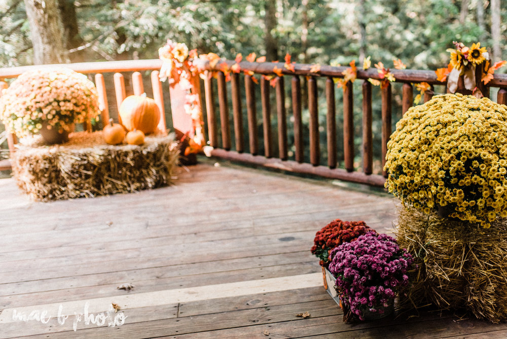 bobbi and pat's intimate fall cabin elopement in hocking hills old man's cave and rock house in logan ohio photographed by youngstown wedding photographer mae b photo-24.jpg