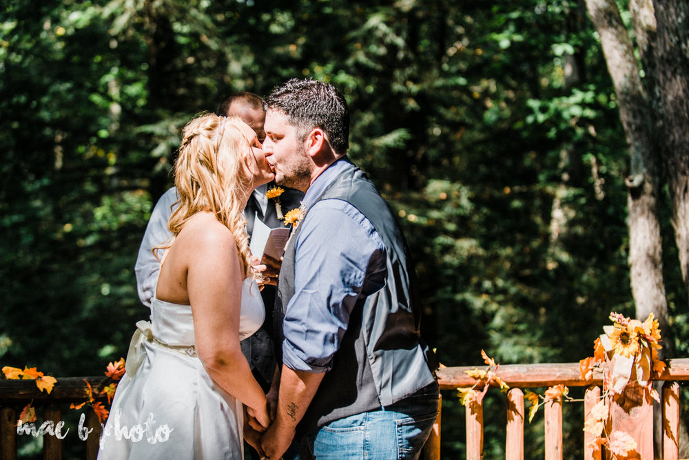 bobbi and pat's intimate fall cabin elopement in hocking hills old man's cave and rock house in logan ohio photographed by youngstown wedding photographer mae b photo-47.jpg