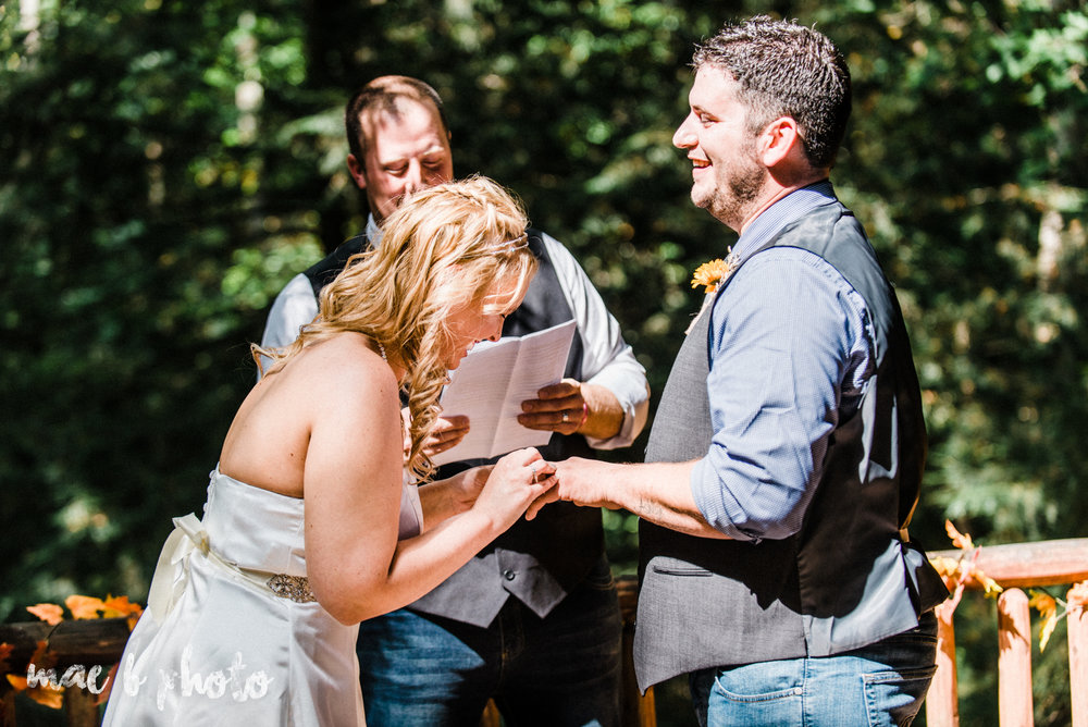 bobbi and pat's intimate fall cabin elopement in hocking hills old man's cave and rock house in logan ohio photographed by youngstown wedding photographer mae b photo-46.jpg