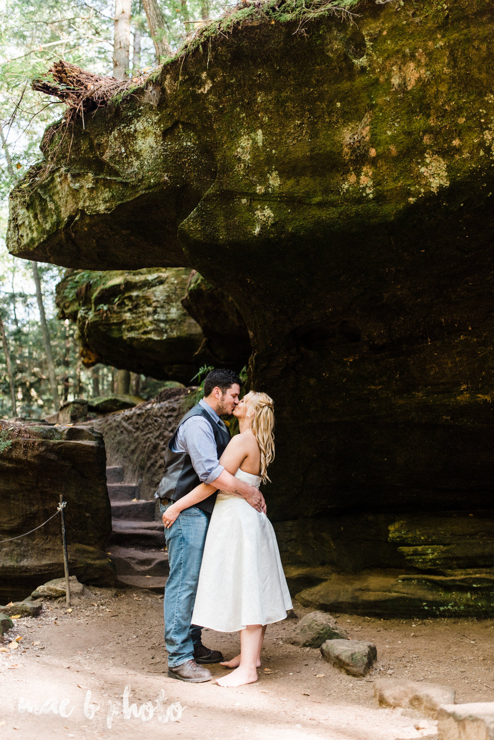 bobbi and pat's intimate fall cabin elopement in hocking hills old man's cave and rock house in logan ohio photographed by youngstown wedding photographer mae b photo-68.jpg