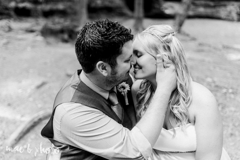 bobbi and pat's intimate fall cabin elopement in hocking hills old man's cave and rock house in logan ohio photographed by youngstown wedding photographer mae b photo-63.jpg