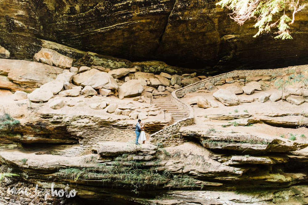 bobbi and pat's intimate fall cabin elopement in hocking hills old man's cave and rock house in logan ohio photographed by youngstown wedding photographer mae b photo-70.jpg