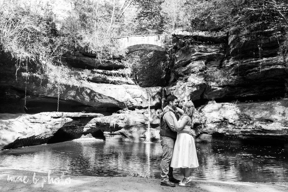 bobbi and pat's intimate fall cabin elopement in hocking hills old man's cave and rock house in logan ohio photographed by youngstown wedding photographer mae b photo-49.jpg