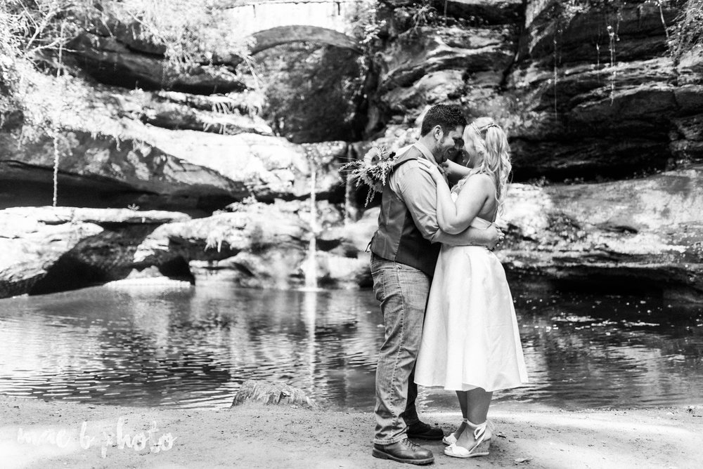 bobbi and pat's intimate fall cabin elopement in hocking hills old man's cave and rock house in logan ohio photographed by youngstown wedding photographer mae b photo-51.jpg