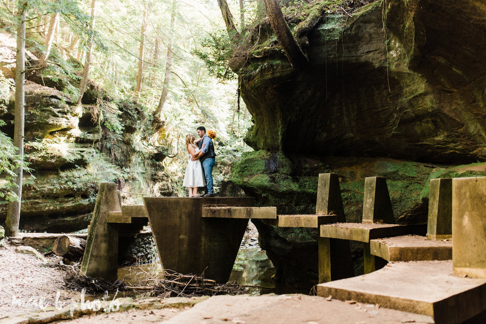 bobbi and pat's intimate fall cabin elopement in hocking hills old man's cave and rock house in logan ohio photographed by youngstown wedding photographer mae b photo-65.jpg