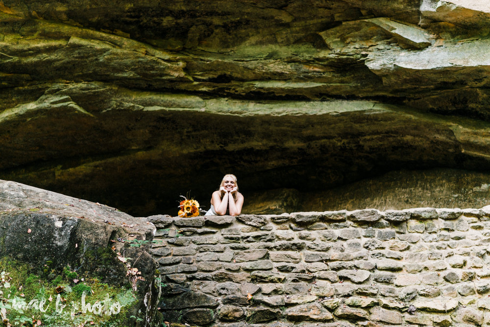 bobbi and pat's intimate fall cabin elopement in hocking hills old man's cave and rock house in logan ohio photographed by youngstown wedding photographer mae b photo-76.jpg