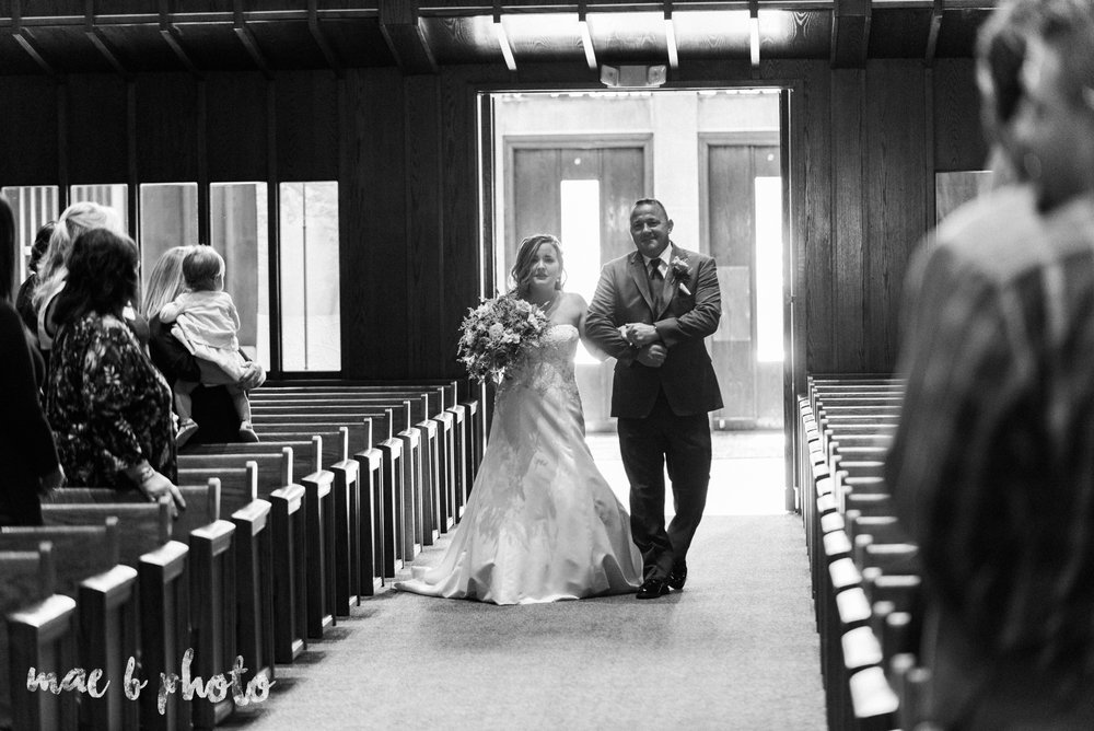 sarah and randy's fun fall wedding at boardman methodist church the rose gardens in mill creek park in youngstown ohio and divieste's in warren ohio photographed by youngstown wedding photographer mae b photo-24.jpg