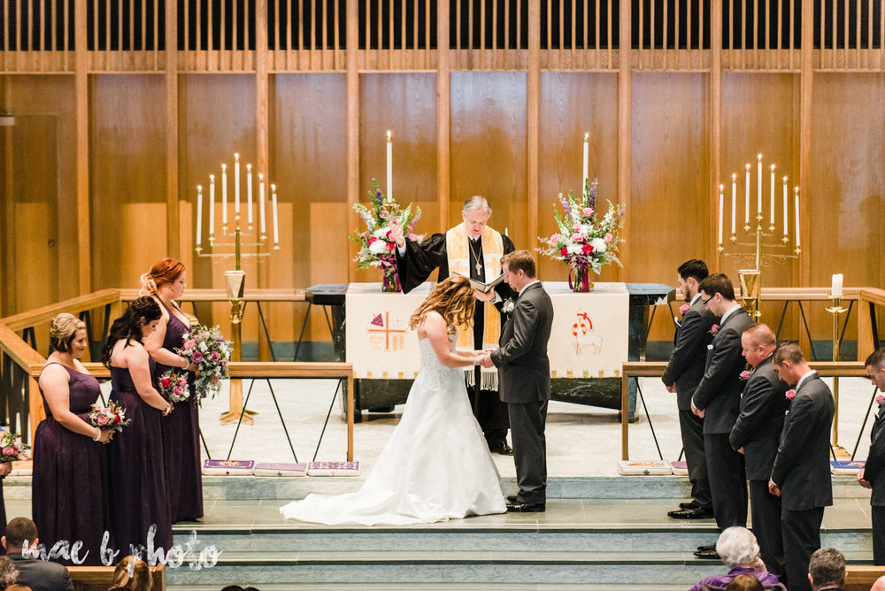 sarah and randy's fun fall wedding at boardman methodist church the rose gardens in mill creek park in youngstown ohio and divieste's in warren ohio photographed by youngstown wedding photographer mae b photo-26.jpg