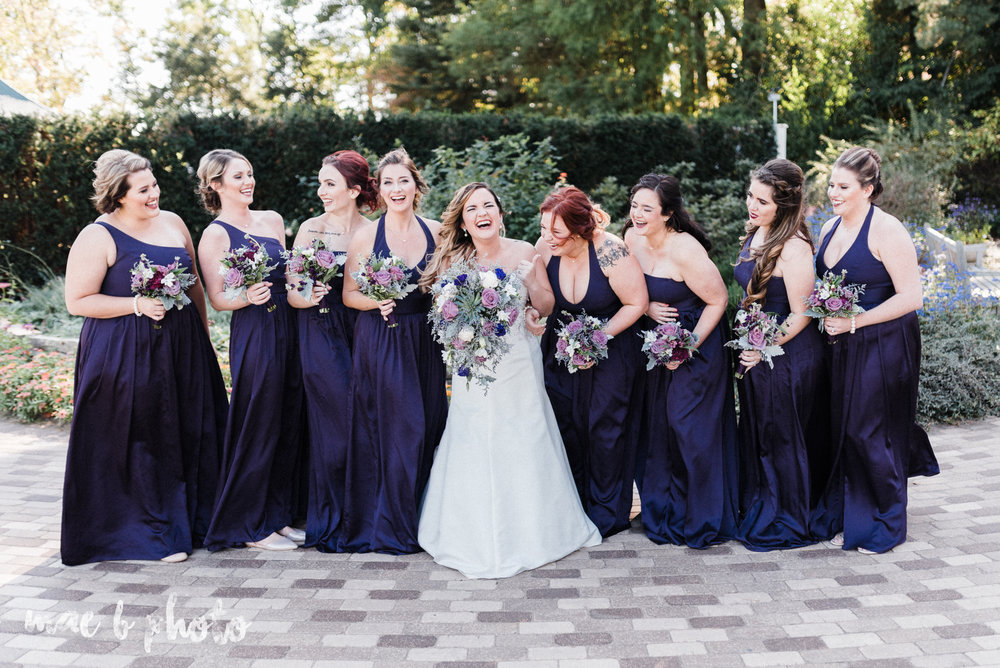 sarah and randy's fun fall wedding at boardman methodist church the rose gardens in mill creek park in youngstown ohio and divieste's in warren ohio photographed by youngstown wedding photographer mae b photo-37.jpg