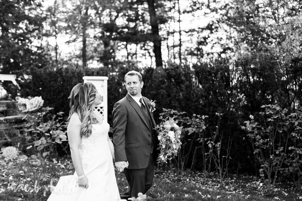 sarah and randy's fun fall wedding at boardman methodist church the rose gardens in mill creek park in youngstown ohio and divieste's in warren ohio photographed by youngstown wedding photographer mae b photo-75.jpg