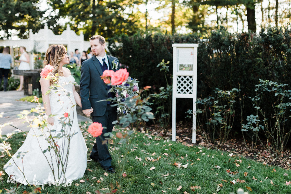 sarah and randy's fun fall wedding at boardman methodist church the rose gardens in mill creek park in youngstown ohio and divieste's in warren ohio photographed by youngstown wedding photographer mae b photo-74.jpg
