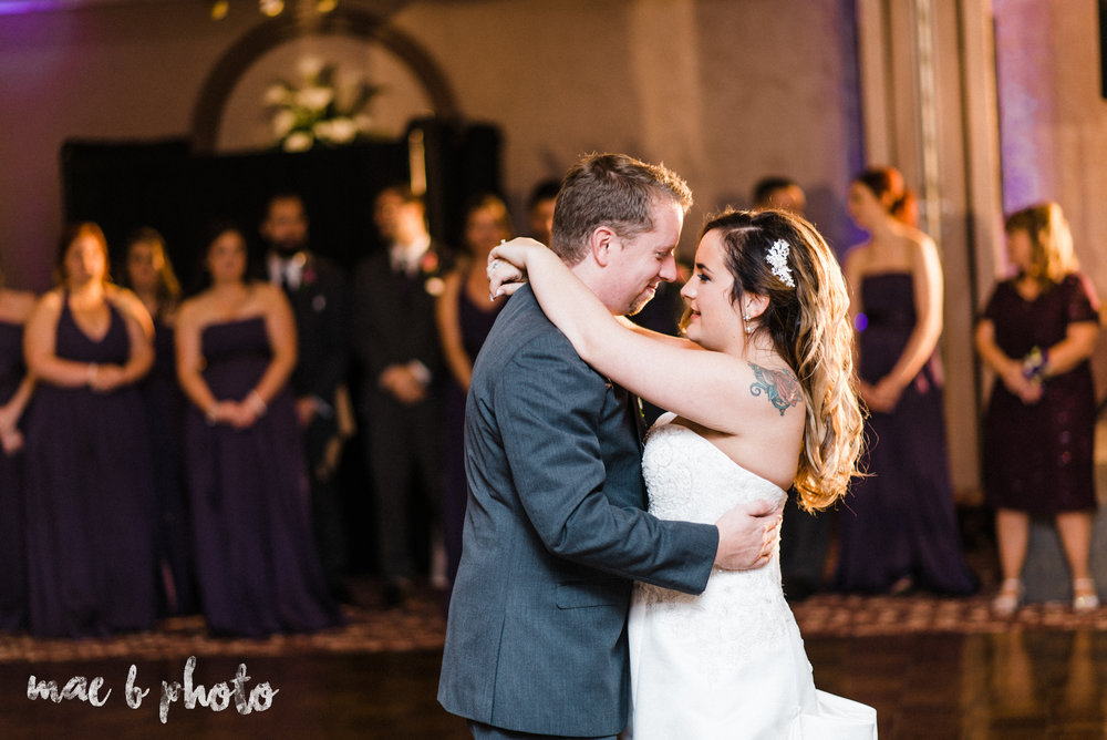 sarah and randy's fun fall wedding at boardman methodist church the rose gardens in mill creek park in youngstown ohio and divieste's in warren ohio photographed by youngstown wedding photographer mae b photo-85.jpg