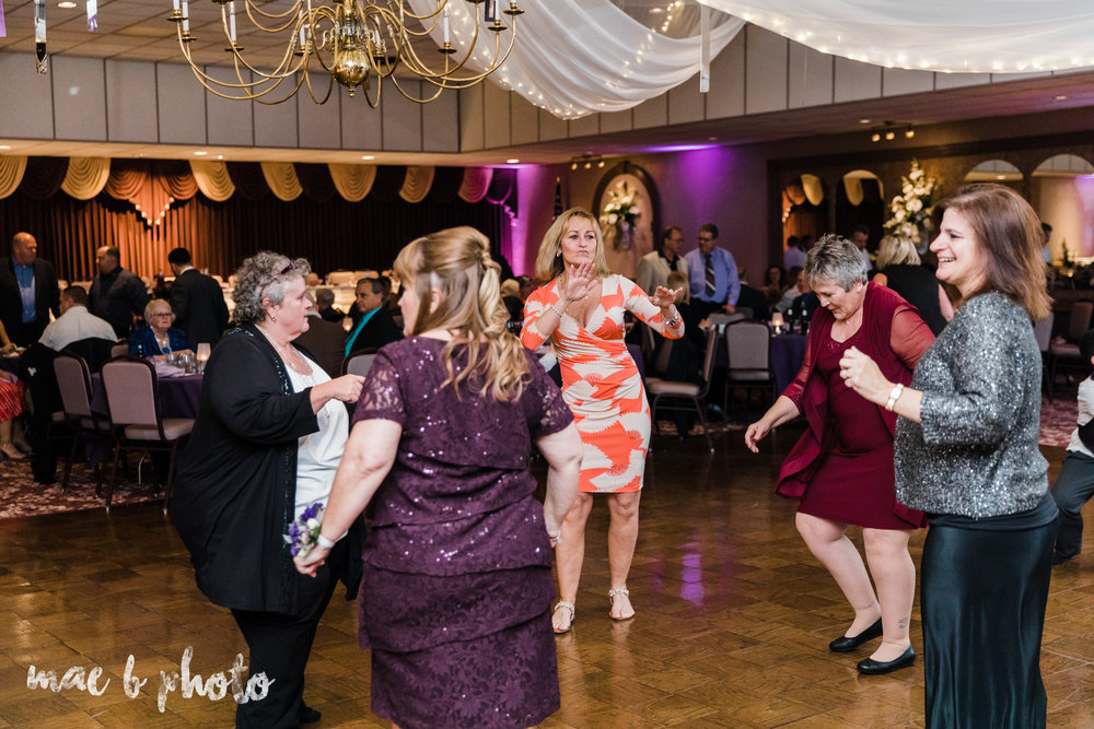 sarah and randy's fun fall wedding at boardman methodist church the rose gardens in mill creek park in youngstown ohio and divieste's in warren ohio photographed by youngstown wedding photographer mae b photo-135.jpg