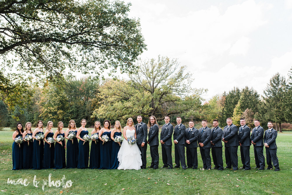 becca and rich's large, personalized fall wedding in orwell ohio and at the metroplex in girard ohio photographed by youngstown wedding photographer mae b photo-28.jpg