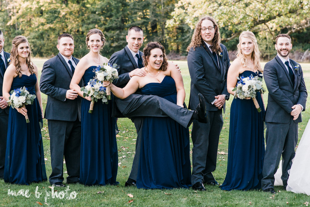 becca and rich's large, personalized fall wedding in orwell ohio and at the metroplex in girard ohio photographed by youngstown wedding photographer mae b photo-25.jpg