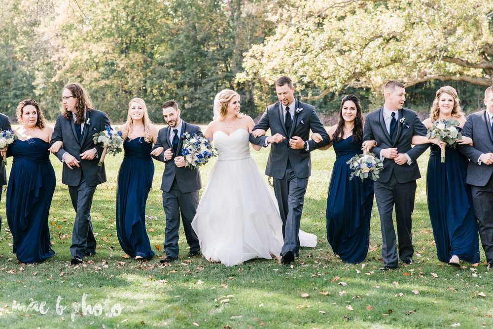 becca and rich's large, personalized fall wedding in orwell ohio and at the metroplex in girard ohio photographed by youngstown wedding photographer mae b photo-26.jpg