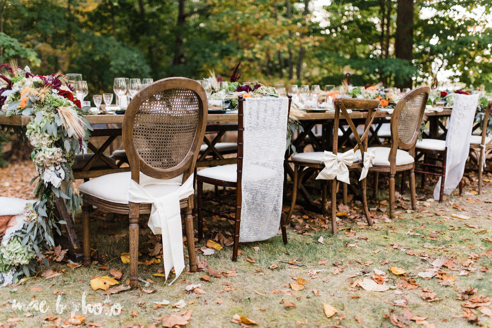 dinner under the trees intimate fall dinner party in youngstown ohio hosted by joe mineo of joe mineo creative with chrystal's catering photographed by youngstown wedding photographer mae b photo-8.jpg