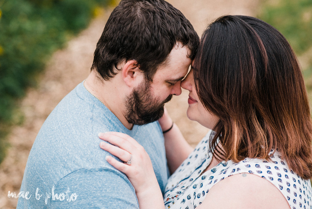 lauren and mike's fall family session and five year anniversary session at mill creek metroparks farm in canfield, ohio photographed by youngstown wedding photographer mae b photo-18.jpg