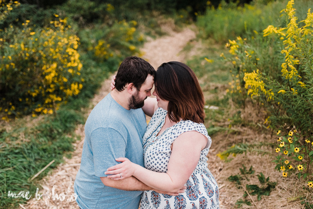 lauren and mike's fall family session and five year anniversary session at mill creek metroparks farm in canfield, ohio photographed by youngstown wedding photographer mae b photo-17.jpg
