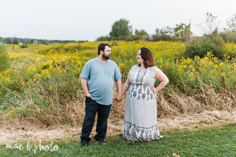 lauren and mike's fall family session and five year anniversary session at mill creek metroparks farm in canfield, ohio photographed by youngstown wedding photographer mae b photo-24.jpg