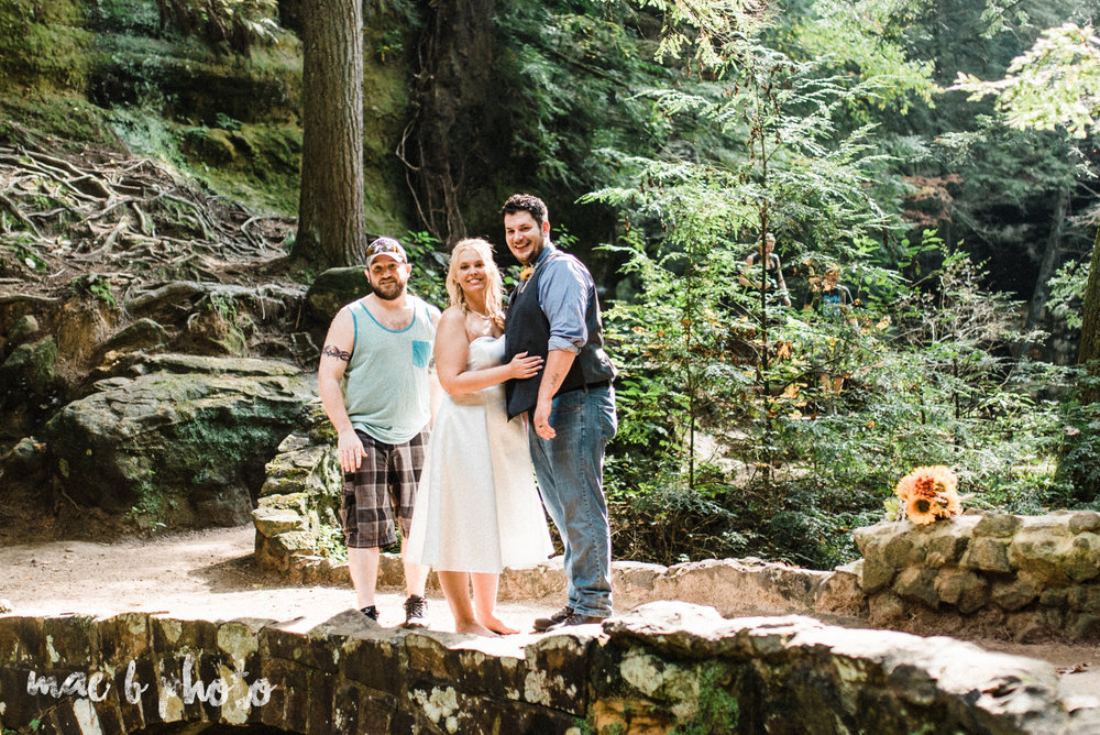 behind the scenes of bob and pat's intimate fall cabin elopement in hocking hills at old man's cave and the rock house in logan ohio  photographed by youngstown wedding photographer mae b photo-1.jpg