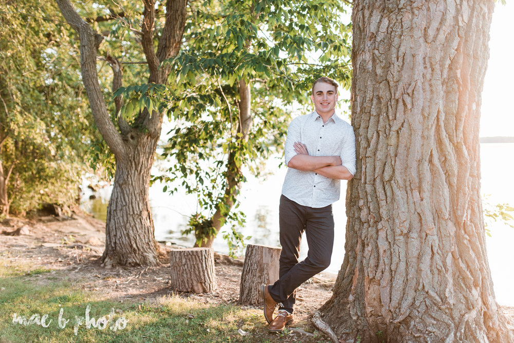 chris's fall senior session at mosquito lake in mecca ohio photographed by youngstown wedding photographer mae b photo-20.jpg