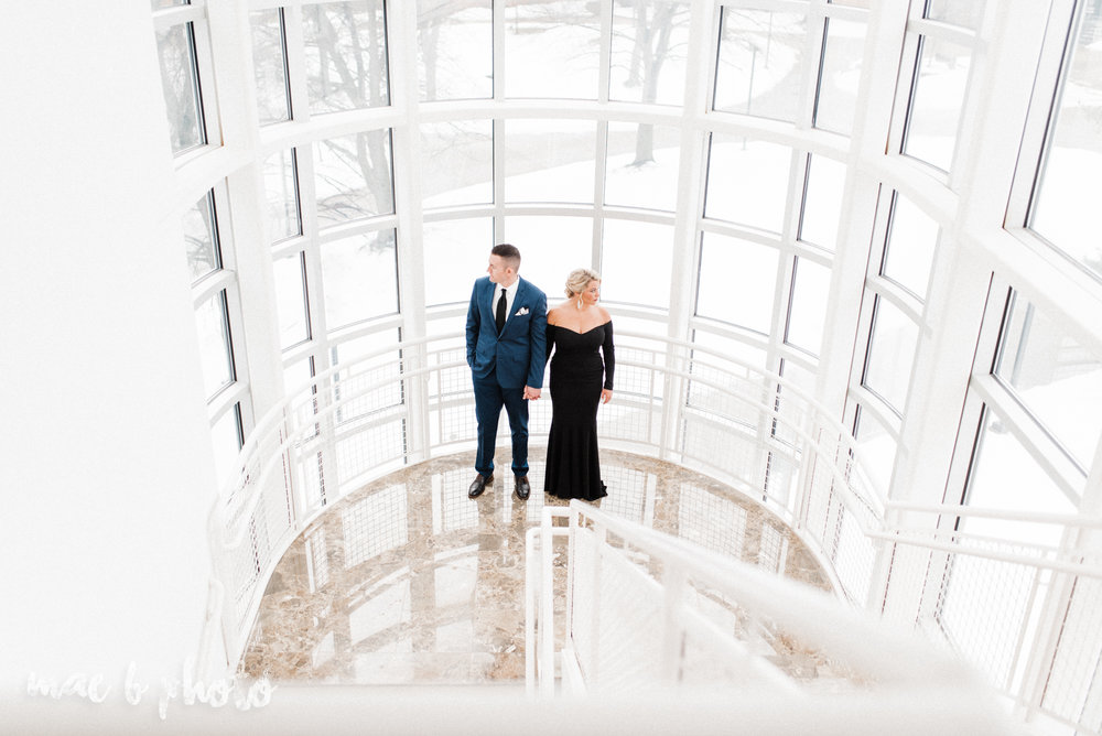 paige and cale's personalized winter glam engagement session at the butler institute of american art and downtown youngstown in youngstown ohio photographed by youngstown wedding photographer mae b photo-12.jpg