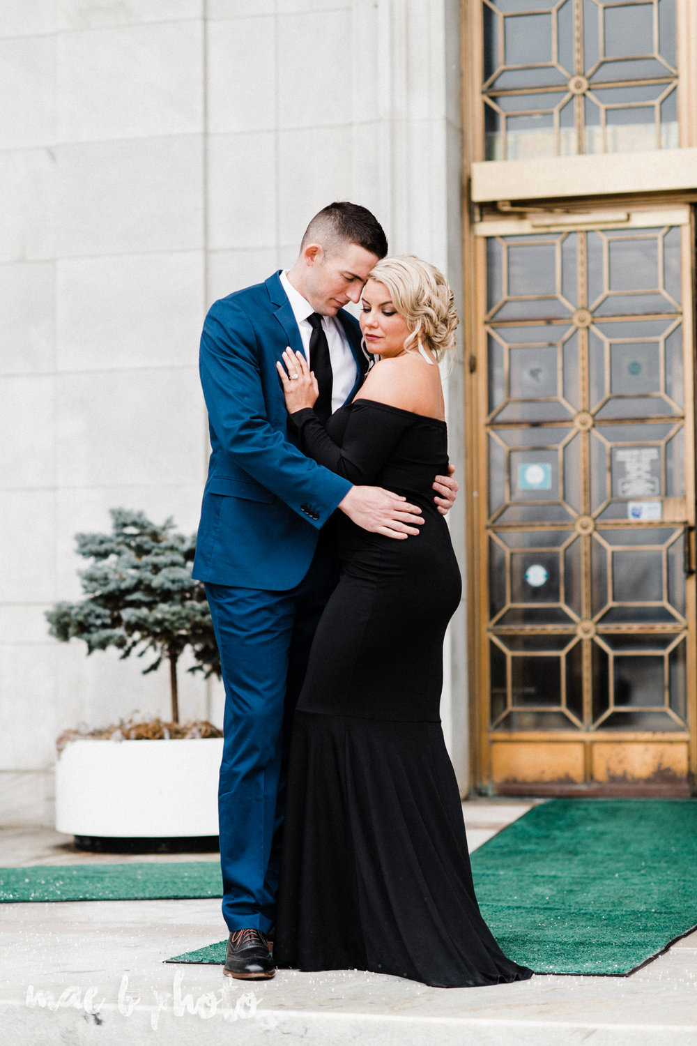 paige and cale's personalized winter glam engagement session at the butler institute of american art and downtown youngstown in youngstown ohio photographed by youngstown wedding photographer mae b photo-7.jpg