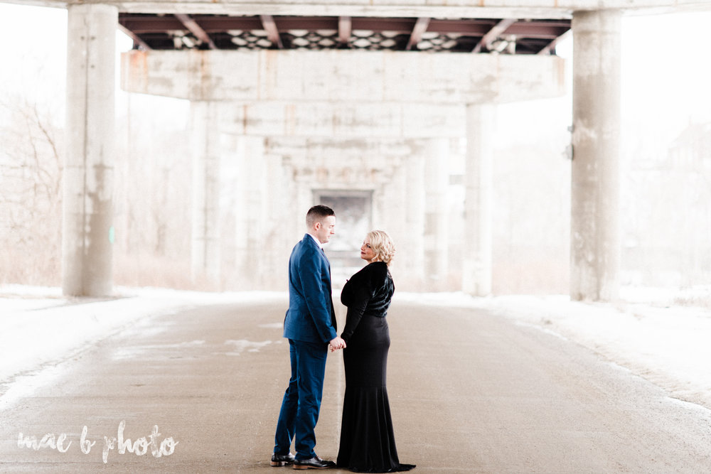 paige and cale's personalized winter glam engagement session at the butler institute of american art and downtown youngstown in youngstown ohio photographed by youngstown wedding photographer mae b photo-26.jpg