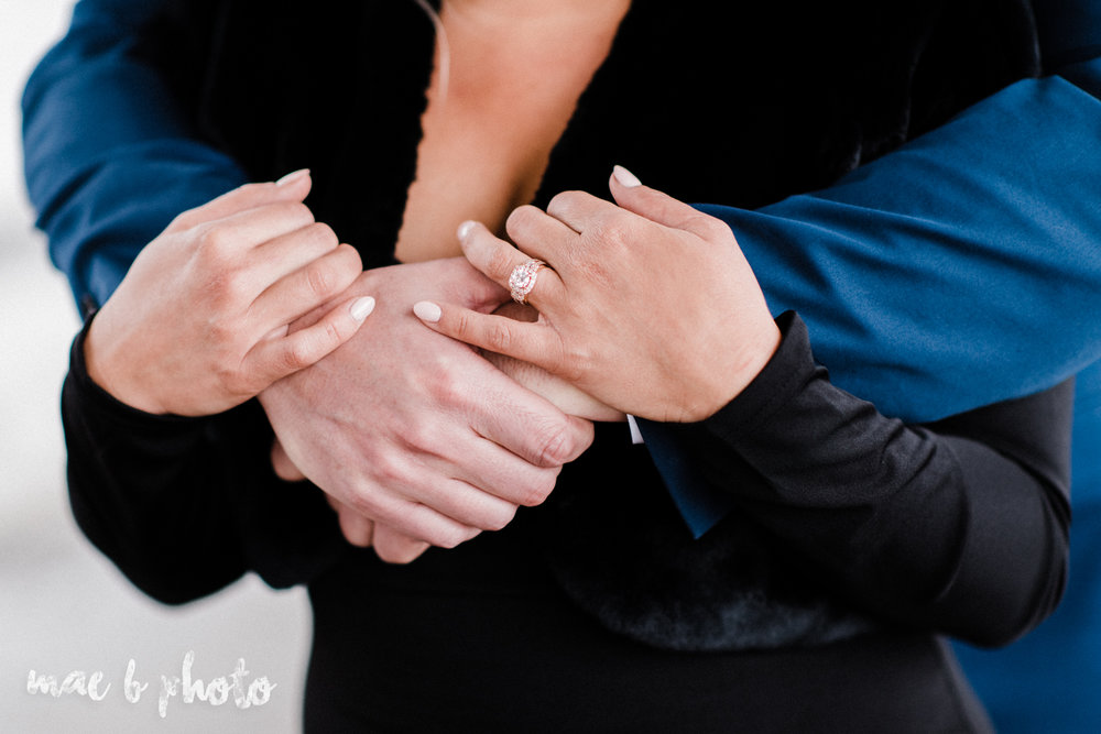 paige and cale's personalized winter glam engagement session at the butler institute of american art and downtown youngstown in youngstown ohio photographed by youngstown wedding photographer mae b photo-31.jpg