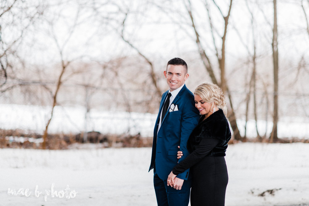 paige and cale's personalized winter glam engagement session at the butler institute of american art and downtown youngstown in youngstown ohio photographed by youngstown wedding photographer mae b photo-33.jpg