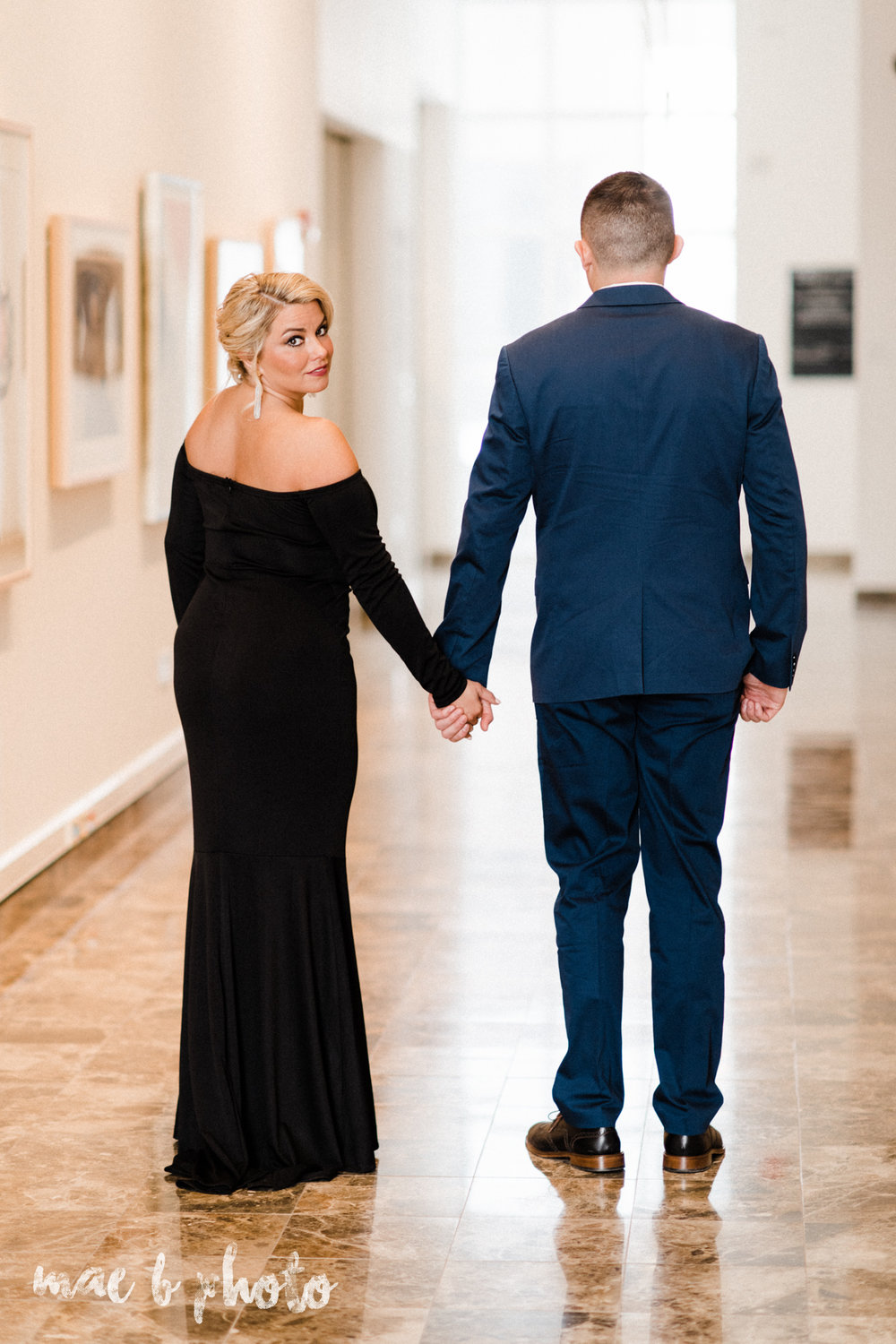 paige and cale's personalized winter glam engagement session at the butler institute of american art and downtown youngstown in youngstown ohio photographed by youngstown wedding photographer mae b photo-16.jpg