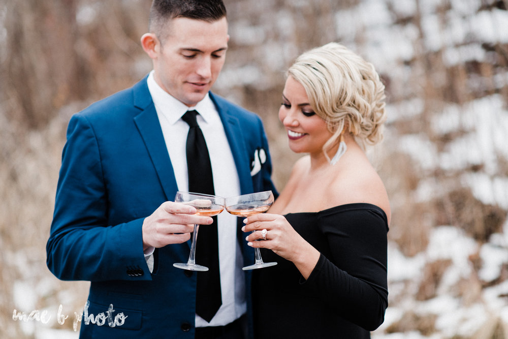 paige and cale's personalized winter glam engagement session at the butler institute of american art and downtown youngstown in youngstown ohio photographed by youngstown wedding photographer mae b photo-49.jpg