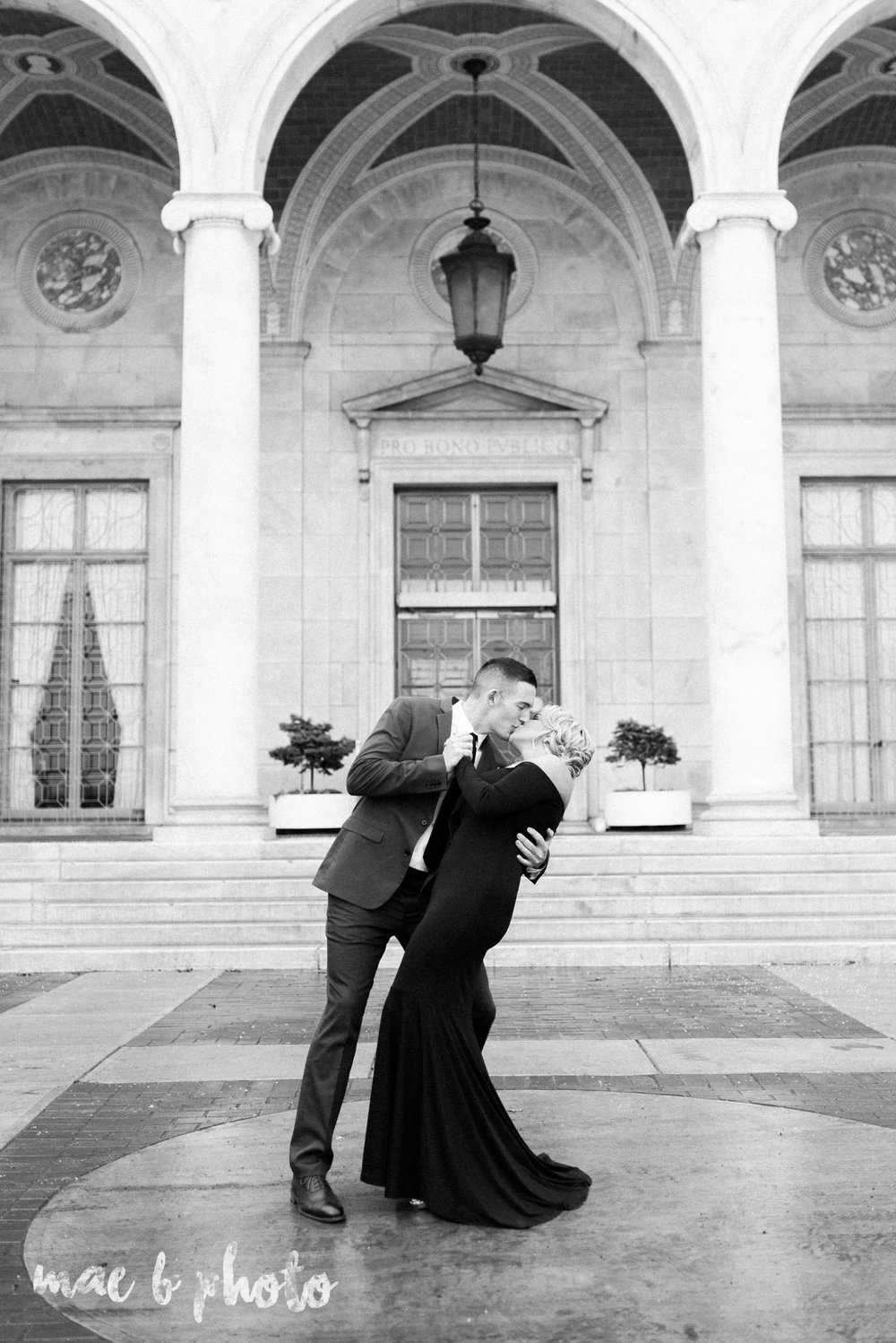 paige and cale's personalized winter glam engagement session at the butler institute of american art and downtown youngstown in youngstown ohio photographed by youngstown wedding photographer mae b photo-4.jpg