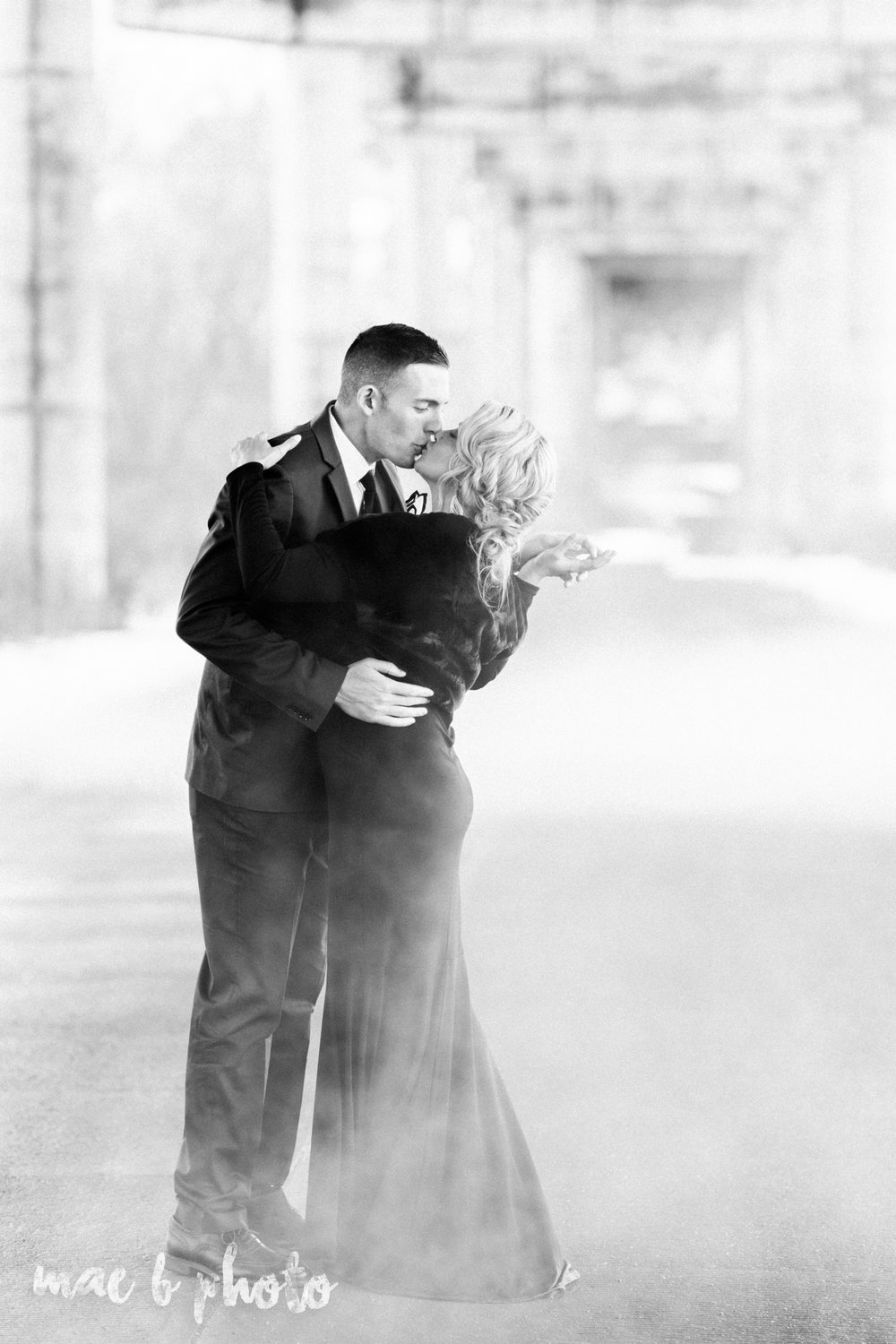 paige and cale's personalized winter glam engagement session at the butler institute of american art and downtown youngstown in youngstown ohio photographed by youngstown wedding photographer mae b photo-38.jpg