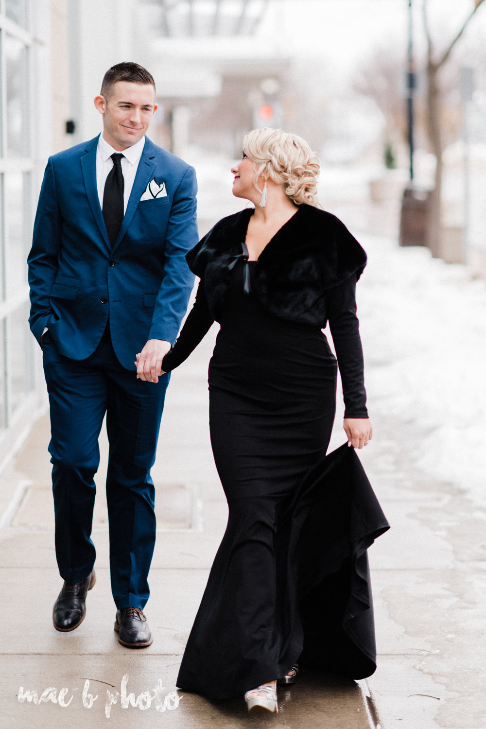 paige and cale's personalized winter glam engagement session at the butler institute of american art and downtown youngstown in youngstown ohio photographed by youngstown wedding photographer mae b photo-22.jpg